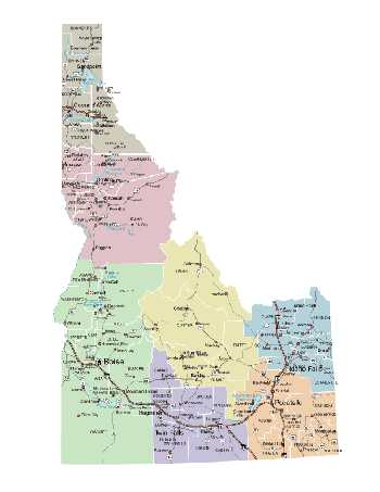 Donnelly Idaho Map | autobedrijfmaatje on